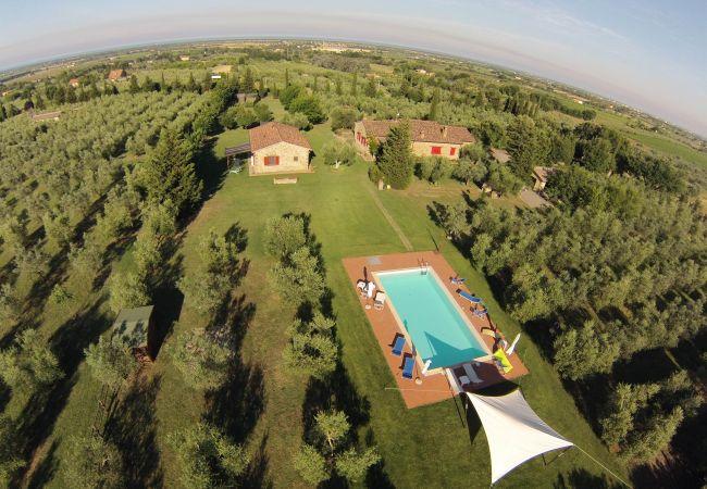 Agriturismo a Bibbona - Bilocale con piscina immerso nel verde Edy