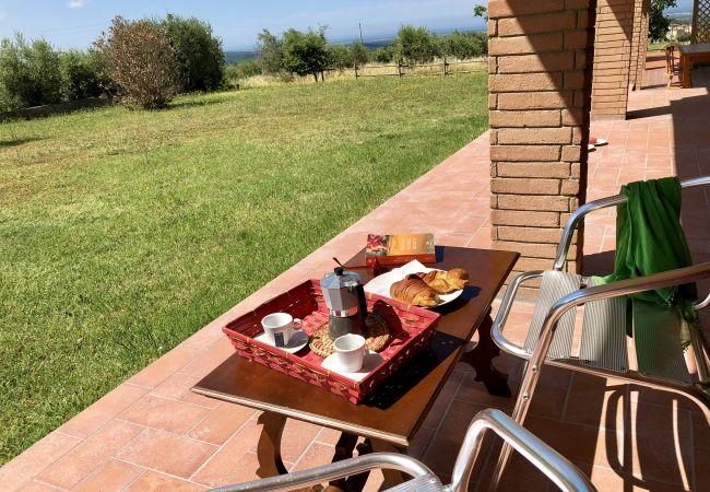 Appartamento a Riparbella - Podere Cerro Grosso Vista Mare Toscana Tour 4V