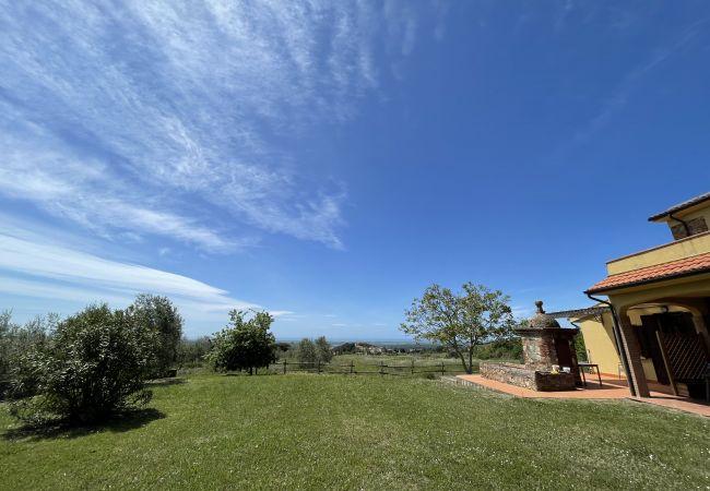 Appartamento a Riparbella - Podere Cerro Grosso Vista Mare Toscana Tour 3V