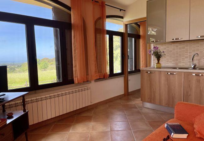 Appartamento a Riparbella - Podere Cerro Grosso Vista Mare Toscana Tour 2V