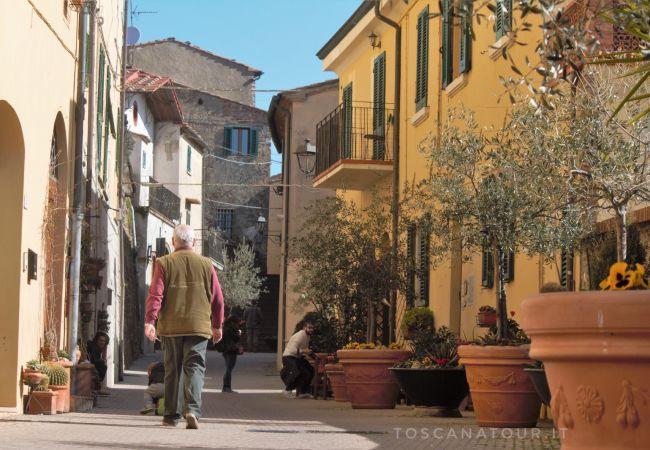 Appartamento a Montescudaio - Casina Elena Toscana Tour