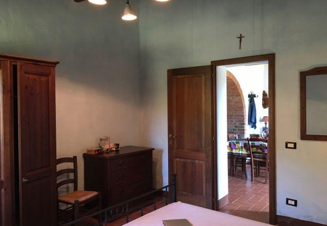 Appartamento a Montecatini Val di Cecina - Agriturismo Gello Piscina Wi-Fi gratis Piscina