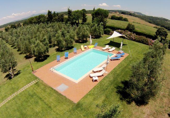 Appartamento a Bibbona - Agriturismo a Bibbona con piscina Francesca