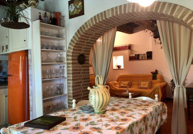 Appartamento a Guardistallo - Casa Malerin con vista mare