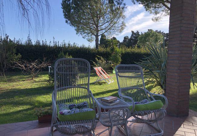 Casa a Cecina - Casa con piscina, giardino privato, mare (9 Km)