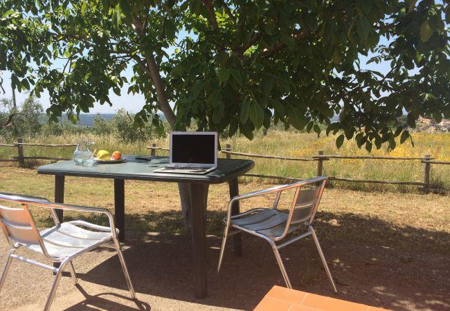 Apartment in Riparbella - Podere Cerro Grosso Wi-Fi gratis Vista Mare 4 PL