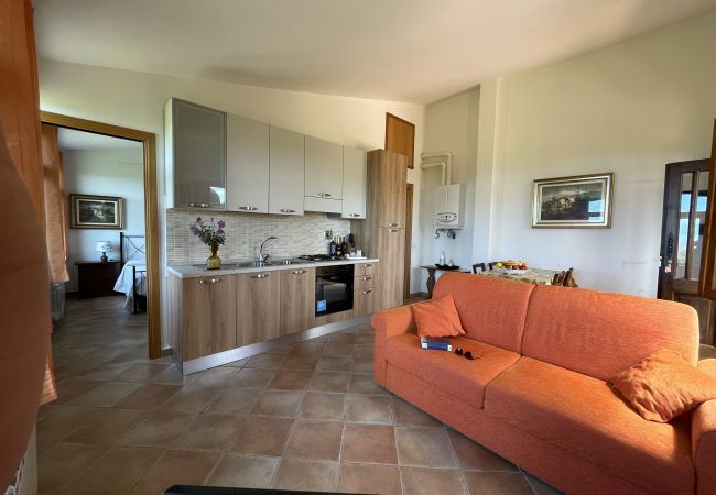 Apartment in Riparbella - Podere Cerro Grosso Vista Mare Toscana Tour 2V