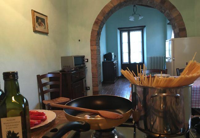 Apartment in Montecatini Val di Cecina - Agriturismo Gello Piscina Wi-Fi gratis Orto