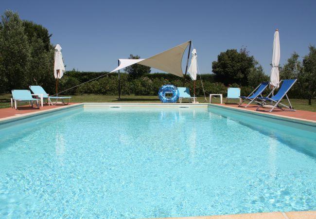 Ferienwohnung in Bibbona - Bilocale con piscina immerso nel verde Edy
