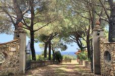 Ferienwohnung in Riparbella - Vista mare trilocale con ingresso...