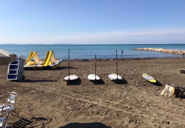 Ferienwohnung in Riparbella - Podere Cerro Grosso con vista mare Marina