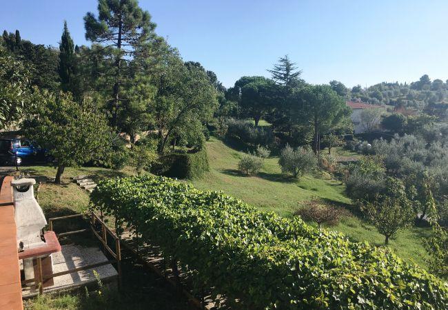 Villa in Castellina Marittima - Casa Bianca Villa con Piscina vista Mare
