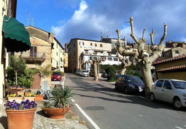Ferienhaus in Guardistallo - Casetta Gaia con vista mare Guardistallo