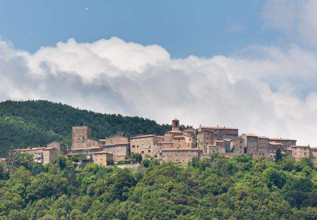 Ferienhaus in Montecatini Val di Cecina - Villetta dei Forti indipendente giardino recintato
