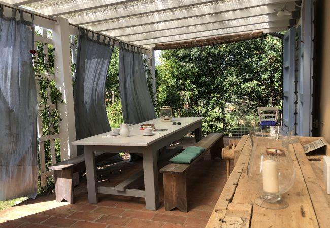 Ferienhaus in Cecina - Casa Daria indipendente con giardino recintato